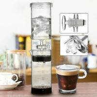 Portable Cold Brew Water Ice Drip Dutch Coffee Maker Home Travel Glass  AU