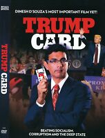 TRUMP CARD New Sealed DVD Documentary Donald Trump Dinesh D Souza