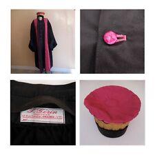 Costume robe chapeau coiffe fait main Université Magistrature F. GERIN N4091