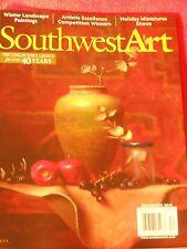 SOUTHWEST ART MAGAZINE DECEMBER 2013 WINTER LANDSCAPE PAINTINGS AWARD WINNERS