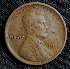 1917-S San Francisco Mint Lincoln Wheat Cent Penny