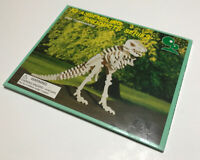 Vintage 3D Wood T-Rex Dinosaur Puzzle IQ Assembling Products D301 New