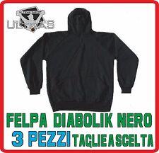 MATERIALE ULTRAS felpa DIABOLIK ninja nero PEZZI 3