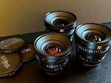 SLR Magic Micro Prime Cine Fujifilm Lens Kit