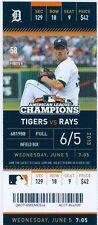 2013 Tigers vs Rays Ticket: Rays score 3 in 9th inning to break tie