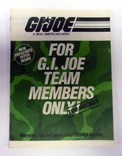 GI JOE TEAM MEMBERS ONLY CATALOG Vintage Brochure Booklet Green COMPLETE 1984