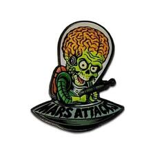 Mars Attacks Alien Invader Enamel Pin Tim Burton Horror Sci Fi Comedy Movie Gift