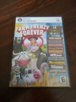 Farm Frenzy Forever 1 2 3 & 7 more PC Games Windows CD-Rom Rated E NIP 2011