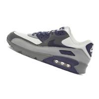 NIKE MENS Shoes Air Max 90 'Lahar Escape' - White, Indigo & Grey - OW-CI5646-100