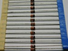 100 Vintage Vestal 1N4001 1A 50V General Purpose Rectifier Diodes Glass DO-41
