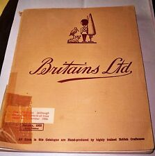 Rare Britains ltd Catalogue January 1955 110th edition with 127 pages