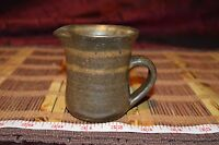 "Beautiful Hand Made Creamer Pottery Studio Art Home Decor Signed 3 1/8""x3"""