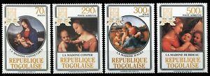 Togo 1984 - Mi-Nr. 1802-1805 ** - MNH - Weihnachten / X-mas