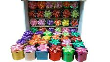 48 Ring Boxes in Assorted Metalic Colors, Shapes with Bows, Gift Boxes