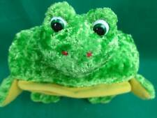 MINIATURE GREEN YELLOW FROG FOOTSTOOL FURNITURE AMERICAN DECORATION GIRL DOLL