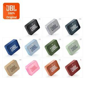 JBL GO 2 Portable Bluetooth Waterproof Mini Speaker Multicolor GO2 2Y Warranty