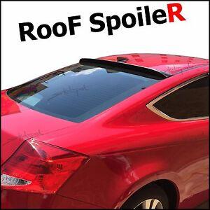 SPKdepot 380R (Fits: Toyota Tercel 1995-99 2dr) Rear Roof Window Spoiler Wing