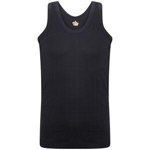 6X or 12X SOFTY® Kids Children's Boys Vest 100% Cotton Rib Sleeveless Underwear