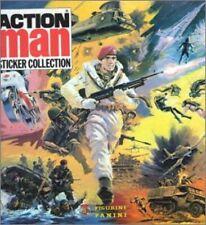 STICKERS IMAGE FIGURINE PANINI VIGNETTE  -  ACTION MAN  - 1983 - a choisir