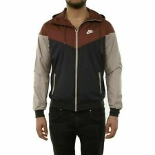 Mens Nike Sportswear Windrunner Jacket Full Zip 727324-236 Red Sepia NEW Size S