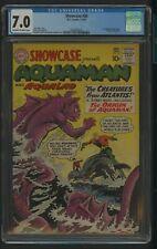 SHOWCASE 30 CGC 7.0 1-2/61 1ST AQUAMAN TRYOUT ISSUE,ORIGIN OF AQUAMAN DC COMICS