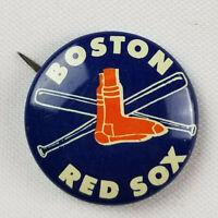 Boston Red Sox Vtg 1968 Rare Crane Potato Ship Baseball Contest Pin - Near Mint