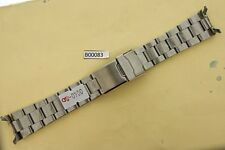 SEIKO SOLID OYSTER BRACELET 7S26 0040 DIVE WATCH SOLID LINKS SKX 031/033 #B00083
