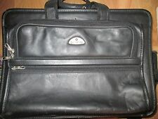 Samsonite Classic Business 3 Gusset Large Toploader Black w/Separate Laptop Case