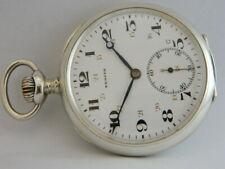 orologio da tasca in argento funzionante ZENITH silver pocket watch working C603