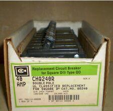 NOS CUTLER HAMMER CHQ240R SQUARE D QO TYPE 40A 2P Circuit Breaker