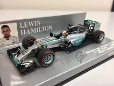 Minichamps F1 WC Mercedes AMG Petronas F1 W06 L. Hamilton 2015 1/43 410150344