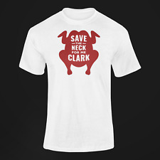 Save The Neck For Me Clark Cotton T Shirt