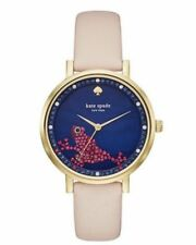 NEW Kate Spade New York KSW1308 Women's Monterey Vachetta Leather Strap Watch