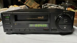 Sony EV-C40 Video8 8mm Video Tape Cassette Recorder Player Vintage Pre-owned