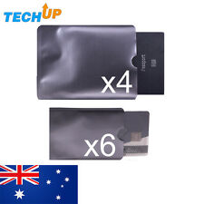 x4 passport & x6 Credit card Anti-theft, Skimming RFID blocking ID travel sleeve