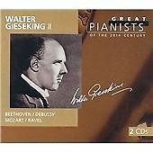 "CD x 2 PHILIPS Great Pianists 20th Century 33: 456 790-2 ""Walter Gieseking II"""