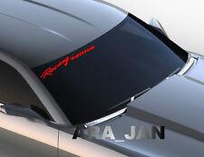 Windshield Racing edition Vinyl Decal sport car sticker logo fits CAMARO RED