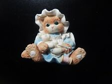 Enesco Calico Kittens You Make It All Better 4C14/749 With Box! Ww634Xxx