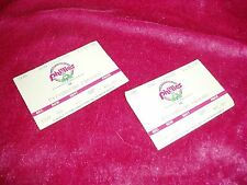 """VTG, Set of 2, """"PHILLIES VS. PITTSBURGH PIRATES TICKET STUBS"""", August 14th, 1988"""