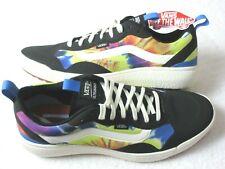 Vans Women's UltraRange Exo Tie Dye  Trail Shoes Black Marshmallow Size 7 NIB