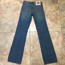 Evisu Genes Embroidered  Women's size 26 x 31  Straight Leg Jeans 0192