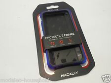 GENUINE NEW MODEL 2015 MACALLY PROTECTIVE FRAME FOR IPHONE 6 CASE COVER UK-B786