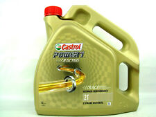4liter Castrol power 1 Racing 2T 2 Tempi Olio Sintetico Power1 Api TC + Jaso