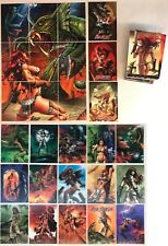 RED SONJA (BREYGENT/2012) Base Card Set WITH ALL 27 CHASE CARDS & Original Box