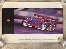 2000 Audi R8 Spyder 12 Hours of Sebring Victory Showroom Advertising Poster RARE