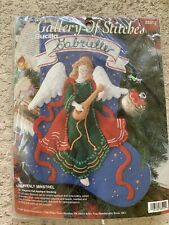BUCILLA GALLERY OF STITCHES HEAVENLY ANGEL STOCKING KIT