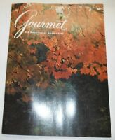 Gourmet Magazine Truffling In The Lot October 1974 102214R