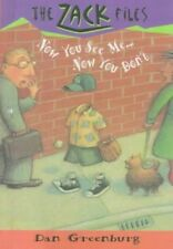 Now You See Me .... Now You Don't  (The Zack Files #12)-ExLibrary