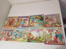 Lot Of 8 Berenstain Bears Books Children's Books dark strangers dare tv pets