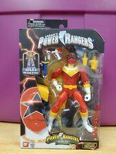 Power Rangers Zeo Legacy Collection RED RANGER Action Figure! Limited Edition!